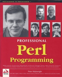 Professional Perl Programming